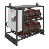 Lincoln Electric K2667-2 V350-PRO 6-Pack Rack Multi-Operator Welder-1