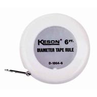 Keson D18646 6 Ft Diameter Tape Feet & Inches (12 In A Box)-1