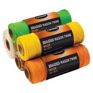 Keson Ob500 Orange Braided Nylon #18 X 500 Ft. Twine (12 In A Box)-1