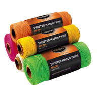 Keson Yt1090 Yellow Twisted Nylon #18 X 1090 Ft. Twine (12 In A Box)-1