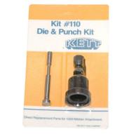 Kett Kit #110 18 Gauge Punch And Die Kit-1