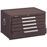 Kennedy 285xb 5-drawer Mechanic's Chest Wball-bearing Slides27 Brown-1