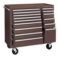 Kennedy 315xb 15-drawer Maintenance Cart Brown-1