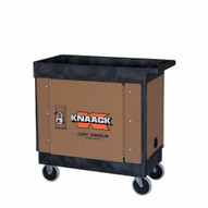 Knaack CA-03 Mobile Locking Utility Cart Security Paneling For Rubbermaid Carts-1