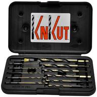 Knkut 12KKQRD 12 Piece 14 Hex Shank Quickrelease Drill Bit Set-1