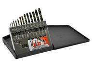 Knkut 13KK6 13 Piece Left Hand Jobberlength Drill Bit Set-1