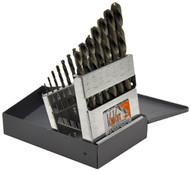 Knkut 15KK6 15 Piece Left Hand Jobberlength Drill Bit Set-1