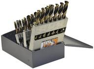 Knkut 26KK5 26 Piece Jobber Length Lettersa-z Drill Bit Set-1