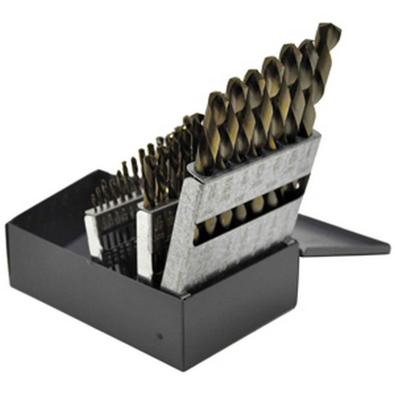 Knkut 29KK6 29 Piece Left Hand Jobberlength Drill Bit Set-2
