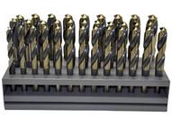 Knkut 33KK12 33 Piece S&d Reduced Shankdrill Bit Set-1