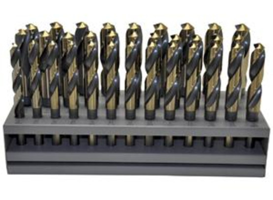 Knkut 33KK12 33 Piece S&d Reduced Shankdrill Bit Set-1