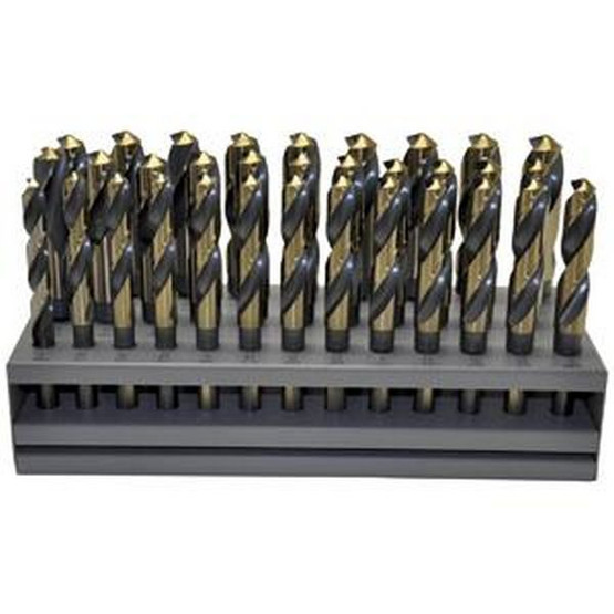 Knkut 33KK12 33 Piece S&d Reduced Shankdrill Bit Set-2