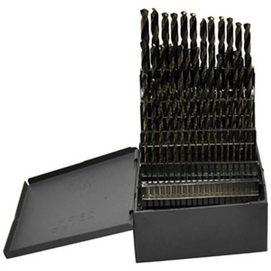 Knkut 80KK5 80 Piece Jobber Length Numbers1-80 Drill Bit Set-2
