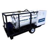 LB White Foreman 500 Oil 500000 BUTH Oil Indirect-fired Portable Heater Vented-2