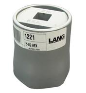 Lang Kastar 1221 2-1 2 6 Pt 3 4 Dr Hex Axlenut Socket-1