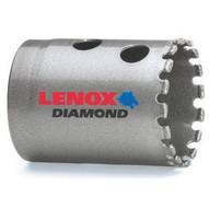 Lenox 1211824DGHS 1 12 (38mm) Diamond Grit Hole Saw-1