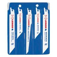 Lenox 20502546A T2 Bi-metal Reciprocating Saw Blade Kit In Vinyl Pouch 5 Piece-1
