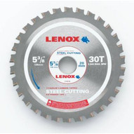Lenox 21876ST538030CT 5 38 (135mm) 30 Tooth Count Metal Cutting Circular Saw Blade For Steel-1
