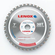 Lenox 21879ST700038CT 7 (180mm) 38 Tooth Count Metal Cutting Circular Saw Blade For Steel-1