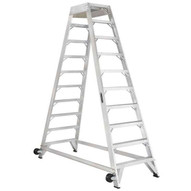 Louisville Ladder AM8012 12 Ft Aircraft Mechanic Ladder Cap: 300 Lbs Type Ia-1