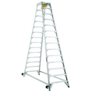 Louisville Ladder AM8014 14 Ft Aircraft Mechanic Ladder Cap: 300 Lbs Type Ia-1