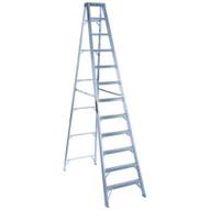 Louisville Ladder AS1012 12 Ft Aluminum Standard Ladder Cap: 300 Lbs Type Ia-1