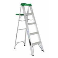 Louisville Ladder AS4005 5 Ft Aluminum Standard Ladder Cap: 225 Lbs Type Ii-1