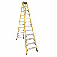 DeWalt DXL3030-12 12 Ft Fiberglass Twin Front Ladder Cap: 300 Lbs Type Ia-1