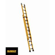 Louisville Ladder DXL3420-20PG 20 Ft Fiberglass Multi-section Ladder Cap: 375 Lbs Type Iaa-1