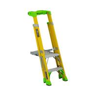 Louisville Ladder FCP1402HD 2' FG Cross Pinnacle 2-in-1 Platform Ladder Type IAA 375b Rated-2