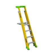 Louisville Ladder FCP1404HD 4' FG Cross Pinnacle 2-in-1 Platform Ladder Type IAA 375b Rated-1