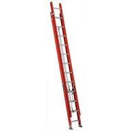 Louisville Ladder FE3224 24 Ft Fiberglass Multi-section Cap: 300 Lbs Type Ia-1