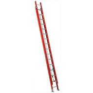 Louisville Ladder FE3232 32 Ft Fiberglass Multi-section Cap: 300 Lbs Type Ia-2