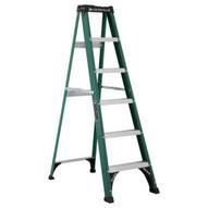 Louisville Ladder FS4005 5 Ft Fiberglass Standard Ladder Cap: 225 Lbs Type Ii-1