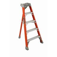 Louisville Ladder FT1505 5 Ft Fiberglass Tripod Ladder Cap: 300 Lbs Type Ia-2