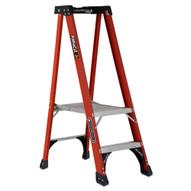 Louisville Ladder FXP1802HD 2 Ft Fiberglass Industrial Cap: 375 Lbs Type Iaa-3