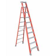 Louisville Ladder FXS1510 Type Ia 10 Ft Cross Step Louisville Fiberglass Step To Shelf Ladder-2