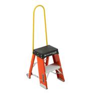 Louisville Ladder FY8002-S55S56 2 Ft Fiberglass Step Stool Industrial Cap: 250 Lbs-3