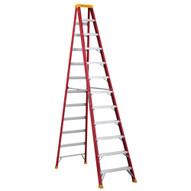 Louisville Ladder L-3016-12 12 Ft Fiberglass Standard Ladder Cap: 300 Lbs Type Ia-1