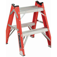 Louisville Ladder L-3433-02 2 Ft Fiberglass Industrial Cap: 500 Lbs-1