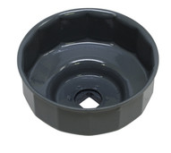 Lisle 61670 100mm - 15 Flutes Oil Filter Cup Wrench-1