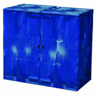 Eagle Manufacturing M24CRA 24 Gal Poly Cabinet Under Counter Modular 2 Doors-2