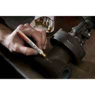 Markal 51123 Lacquer-stik� -soild Paint Crayon For Filling-in Stamped Or Engraved Lines-black 144 In Box-1