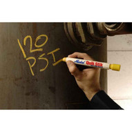 Markal 61053 Quik Stik� -fast-drying Solid Paint In Twist-up Holder-yellow 72 In Box-1