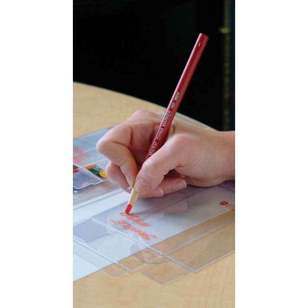 Red MARKAL 96014 China Marker Paper-Wrapped