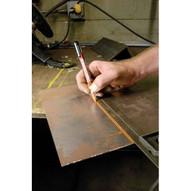 Markal 96137 Trades-marker�-mechanical All-surface Marker-orange (1 Holder 12 Refills) 6 In Box-1