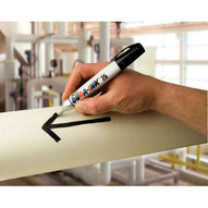 Markal 96223 Dura-ink� 25 King Size Markers-metal Barrel Permanent Ink Marker With Medium Chisel Tip-black 48 In Box-2