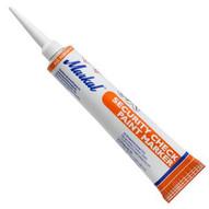 Markal Valve Action Paint SecurityTamper Proof Check Paint Marker (Orange - Pack Of 48)-1