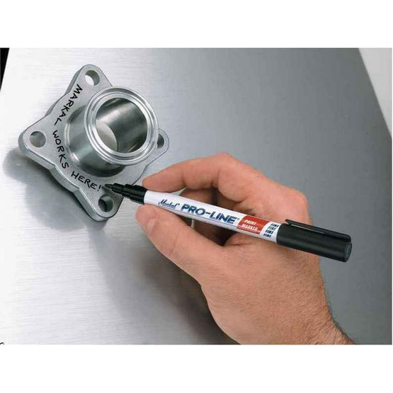 Markal 96878 Pro-line� Fine Point Paint Markers-liquid Paint Markers For Fine Line Marking-pink 48 In Box-2