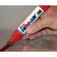 Markal 96916 Dura-ink� 200 Markers-permanent Ink Marker With Broad Chisel Tip-red 24 In Box-1